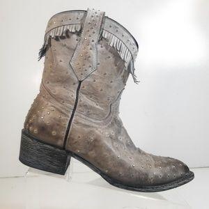 Yippee Old Gringo Women Stud Tassel Cowboy Boot 7B